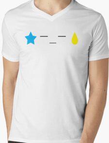 Text x from x Hisoka Mens V-Neck T-Shirt
