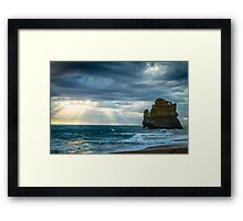 Gibson steps Framed Print