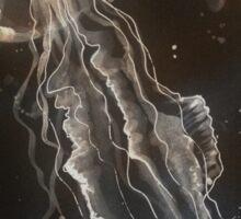 Jellyfish by Liz H Lovell Sticker