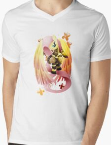 Warrior Series: Fluttershy Mens V-Neck T-Shirt
