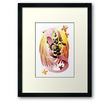 Warrior Series: Fluttershy Framed Print