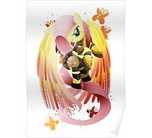 Warrior Series: Fluttershy Poster