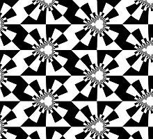 Mandelbrot XV - Black by Rupert Russell