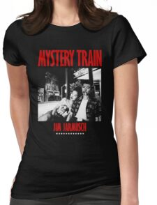 MYSTERY TRAIN -JIM JARMUSCH- Womens Fitted T-Shirt