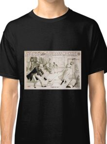 Performing Arts Posters Hoyts comic whirlwind A brass monkey a satire on superstition 1246 Classic T-Shirt