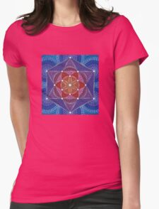 Genesis Pattern Womens Fitted T-Shirt