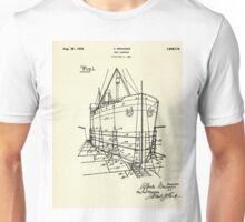 Ship Scaffold-1924 Unisex T-Shirt