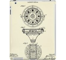 Mariner´s Compass-1892 iPad Case/Skin