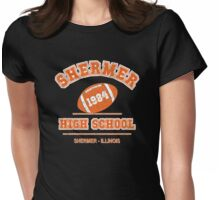 The Breakfast Club - Shermer High 1984' Distressed Variant Womens Fitted T-Shirt