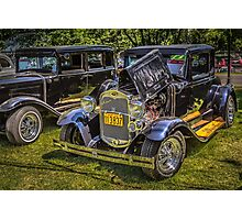 1930 Ford A Coupe Photographic Print