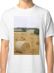 Straw bales Classic T-Shirt