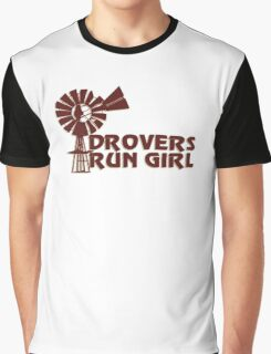 Drovers Run Girl Graphic T-Shirt