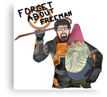 Forget About Freeman Canvas Print