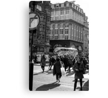 The Streets of London - Oxford Street Canvas Print