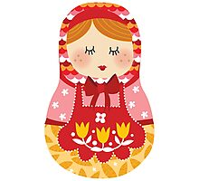russian doll - pink Photographic Print