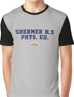Weird Science - Kelly Le Brock Sherman High Phys. Ed. Graphic T-Shirt