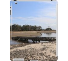 Historic bridge at Lake Narracan iPad Case/Skin