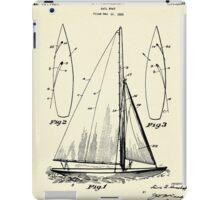 Sail Boat-1927 iPad Case/Skin