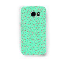 Mint Green Floral  Samsung Galaxy Case/Skin