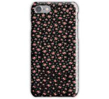 Black Floral iPhone Case/Skin
