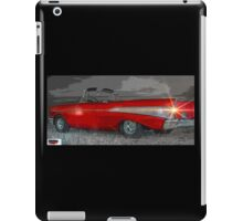57 Chevy Heading For Route 66  iPad Case/Skin
