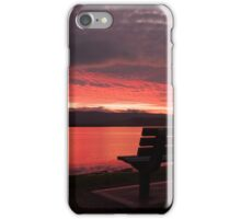 Seat by The Lake iPhone Case/Skin