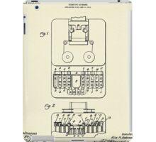 Stenotype Keyboard-1915 iPad Case/Skin