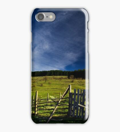 Rural landscape iPhone Case/Skin
