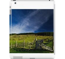 Rural landscape iPad Case/Skin
