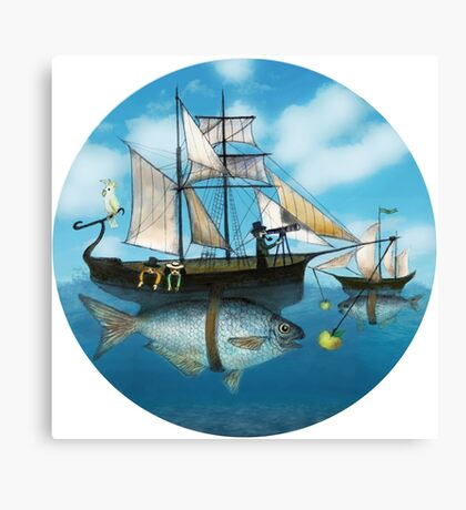 Sea Journey Canvas Print