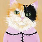 Pretty Fiona the Calico Cat by Ryan Conners