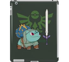 The Hero of Time (and grass) iPad Case/Skin