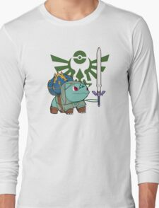 The Hero of Time (and grass) Long Sleeve T-Shirt