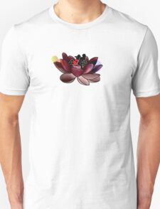 Sitting on a Flower Unisex T-Shirt