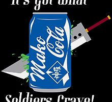 Mako Cola! It's Got What Soldiers Crave! by PartyMoth59