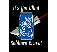 Mako Cola! It's Got What Soldiers Crave! Photographic Print