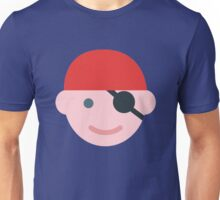 Pirate Kid Icon Unisex T-Shirt