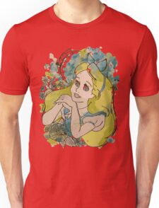 Alice in Watercolour Unisex T-Shirt