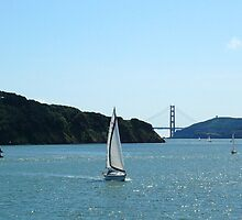 Sailboat on the bay by itsallrelative
