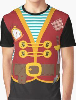 Halloween pirate costume Graphic T-Shirt