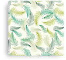 Automn feather Canvas Print