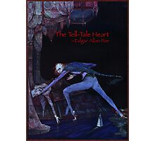The Tell-Tale Heart by Edgar Allan Poe. Illustration by Harry Clarke Photographic Print