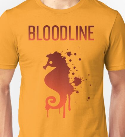 Bloodline Seahorse Unisex T-Shirt