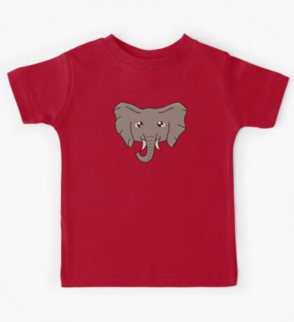 Elephant - African Wildlife Kids Tee
