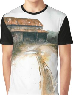 Wallburg Barn Graphic T-Shirt
