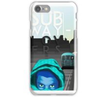 subway lovers iPhone Case/Skin