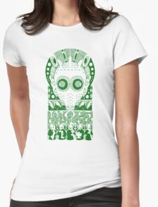 GREEDO (GREEN) Womens Fitted T-Shirt