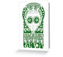 GREEDO (GREEN) Greeting Card