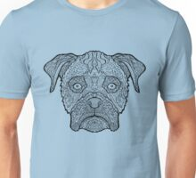 Boxer Dog - Detailed Dogs - Illustration Unisex T-Shirt
