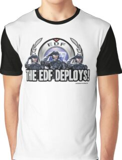 Earth Defense Force The EDF Deploys!  Graphic T-Shirt